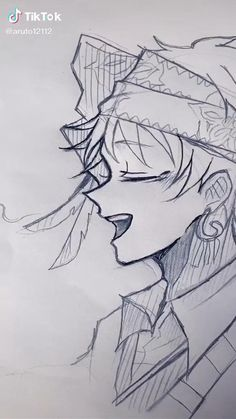 Anime Boy Sketch, Anime Drawings Sketches, Cool Art Drawings, Easy Drawings, Anime Character Drawing, Manga Drawing, Character Art, Wie Zeichnet Man Manga, Anime Dancer