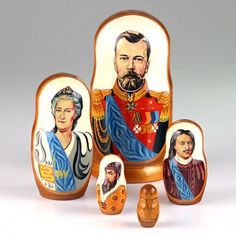 Emperors of Russia Nesting Dolls