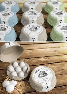 Sustainable Packaging design Egg Cartons - In this post you'll found 39 Awesome and brilliant Egg Packaging Design Ideas to supercharge your creativity Let's take a look and enjoy! Egg Packaging, Honey Packaging, Food Packaging Design, Packaging Design Inspiration, Packaging Ideas, Design Ideas, Egg Stamp, Mini Farm, Farm Stand