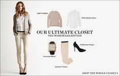 "February 2012   Shopbop ""Our Ultimate Closet"" The Workwear Edition 14 Pieces 10 Looks  [Look 04]"