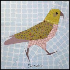 The Tartankiwi: NZ Native Bird Patterns