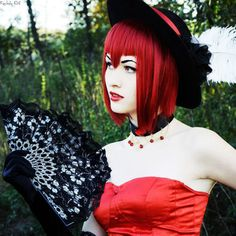 Black Butler- Angelina Durless (Madam Red) Cosplay
