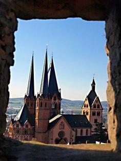 Gelnhausen/Hessen Marienkirche www.hb24-gold.de Gelnhausen Germany, Place Of Worship, Faith In God, Kirchen, Europe, Cathedrals, Architecture, Temples, Building