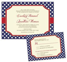 http://www.howtogoaboutplanningawedding.com/weddinginvitationideas.php has some tips on finding the right wedding invitations and when to send them out. instead of red border use yellow.... so cute