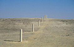 Way of Peace sculpture by dani karavan 1996-2000  Nizana, Israel >>>from > Pruned: Is Dani Karavan a cargo cultist?