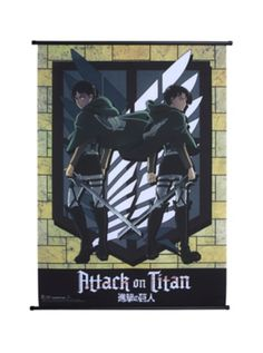 Attack On Titan Eren & Levi