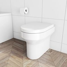 With graceful curves and soft lines, the back to wall toilet from our Oakley Range will suit most any style of bathroom. This back to wall toilet comes complete with luxury soft close seat. Height420 mm Width360 mm Depth520 mm £90 25y guarantee