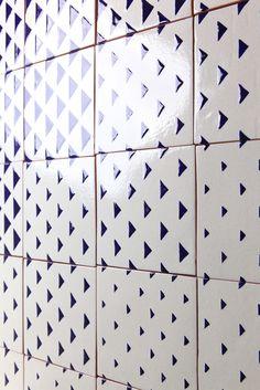 VICCO tile design by davidpompa | Uriarte Talavera | handpainted handmade in…