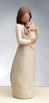 Demdaco Willow Tree Angel of Mine Figurine Mother and Baby Willow Tree Figures, Willow Tree Angels, Sculptures Céramiques, Tree Sculpture, Tree People, Mothers Love, Mother And Child, Wood Carving, Simply Beautiful