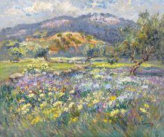 'Fleurs au Printemps' by Isabelle b. De Ganay.