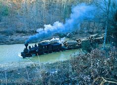 Elk River Coal & Lumber Shay #19 on Nov 24, 1961