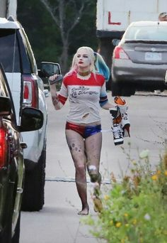 Margot Robbie as Harley Quinn From Suicide Squad