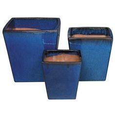 LARGE AQUILA POT BLUE - Mitre 10