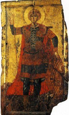 Георгий Победоносец | Икона. Византия. 1266-1267. Македония. СтругаПравославная Жизнь