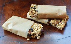 A LA GRAHAM: GRANOLA BARS- CLEAN EATING