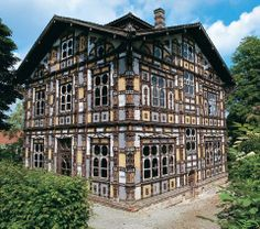 Karl Junker's architecture of madness, in RV 41. http://rawvision.com/articles/junker-house-architecture-madness