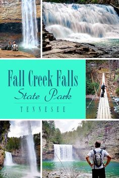 Fall Creek Falls State Park is the crown jewel of Tennessee and home to the highest waterfall in the Eastern United States! Camping Places, Vacation Places, Vacation Spots, Places To Travel, Places To Go, Vacation Destinations, Vacation Ideas, Honeymoon Spots, Camping Tips