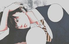 Uploaded by Andromeda. Find images and videos about love, quotes and couple on We Heart It - the app to get lost in what you love. Hot Anime Boy, Anime Love, Anime Guys, Manga Art, Manga Anime, Anime Art, Haikyuu, Futaba Y Kou, Ao Haru Ride Kou