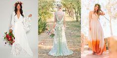 17 non-traditional wedding dress ideas for ballsy brides