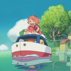 Studio Ghibli Art, Studio Ghibli Movies, Totoro, Otaku, Hayao Miyazaki, Cartoon Art Styles, Vintage Cartoon, Kawaii Art, Anime Scenery