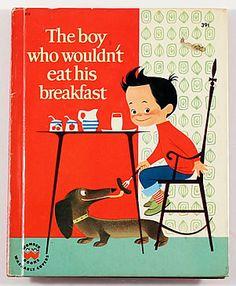 キュリオブックス 【THE BOY WHO WOULDN'T EAT HIS BREAKFAST】Elizabeth Brozowska