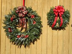 0442e04bc24 Cornett and Deal is a premier Christmas tree farms in North Carolina who  offers Fraser Fir Wreaths at their wholesale Christmas tree farm and NC  Choose n ...