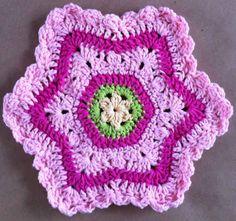 Crochet Dishcloth Tutorial •✿• Teresa Restegui http://www.pinterest.com/teretegui/ •✿•
