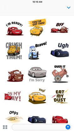 iPhone Screenshot 4 Disney Cars Movie, Disney Cars Party, Disney Cars Birthday, Car Party, Kids Cartoon Characters, Cartoon Kids, Cars 3 Lightning Mcqueen, Cute Disney Pictures, Framed Wallpaper
