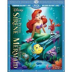 The Little Mermaid (Diamond Edition) (Blu-ray + DVD) (Bilingual) | Walmart.ca