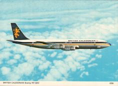 British Caledonian Boeing 707-320C Boeing 707, Boeing Aircraft, Cargo Airlines, Commercial Aircraft, British Airways, Belgium, United Kingdom, Past, Military