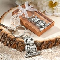 Cute and useful owl keychain favors - Detailed item view - www.weddingfavourswholesale.co.uk