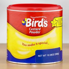 One of my favorite discoveries at WorldMarket.com: Bird's Custard Powder