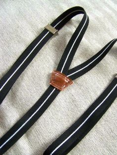 DIY Adjustable Elastic Suspenders