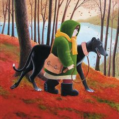 Long Walker by Scottish artist Vicky Mount.