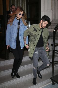 Photos : Gigi Hadid et Zayn Malik : un couple destroy à Milan !
