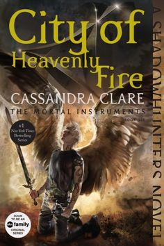 Coming September 1st, Cassandra Clare's Shadowhunters novels are being repackaged with all-new art and bonus content! Here's the new City of Heavenly Fire cover!