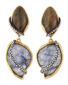 Winding Vine Clip-On Earrings by Alexis Bittar at Neiman Marcus.