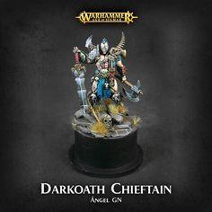 Darkoath Chieftain - Warhammer Quest Silver Tower