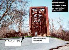 Carpenter's Bluff Bridge- Texas