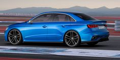 Audi A3 clubsport quattro concept show car with 525 hp - Is this the potential Audi RS3?