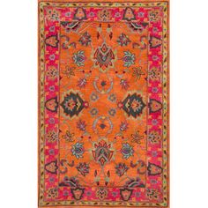 You'll love the Moira Rug in Orange at Joss & Main - With Great Deals on all products and Free Shipping on most stuff, even the big stuff.