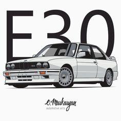 BMW M3 E30 (white)