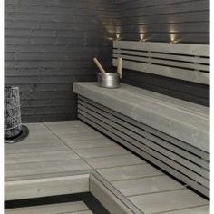 harmaat lauteet - Google-haku Sauna Shower, Sauna Design, Finnish Sauna, Sauna Room, Spa Rooms, Saunas, Bathroom Toilets, Home Spa, Bathroom Interior