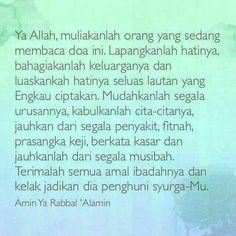 Do'a Untuk Muslimin & Muslimat