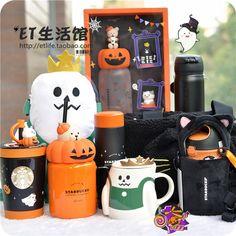 Starbucks Halloween, Halloween Mug, Starbucks Cup, Starbucks Specials, Fall Room Decor, Cherry Blossom, Lunch Box, Korea, Seasons