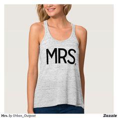 Mrs. Flowy Racerback Tank Top