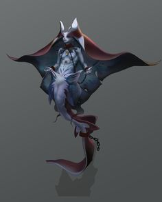 ArtStation - Genevieve Sy's submission on Beneath the Waves - Character/Creature Design