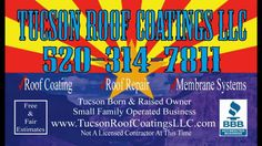 Roof Coating Tucson Before & After 10 26 2015... Roof Coating Tucson One Roof At A Time  Tucson Roof Coatings LLC 520-314-7811 www.TucsonRoofCoatingsLLC.com  #Roof #Tucson #Coating #Professional #Repair