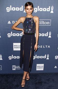 Demi Lovato at The 27th Annual GLAAD Media Awards in LA