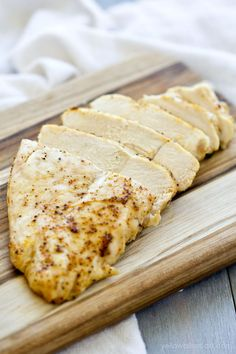Easy Baked Chicken Breasts, Sliced | Tender, Juicy and Flavorful